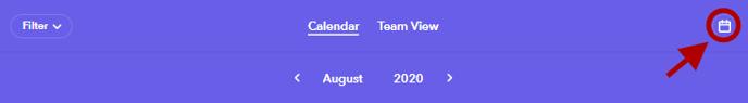Calendar feed