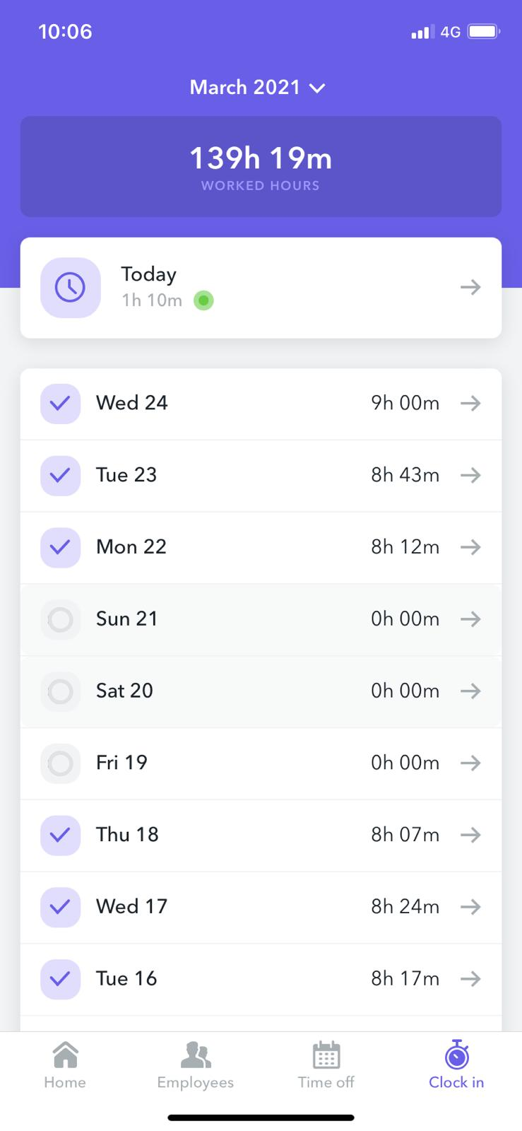 Clock In App