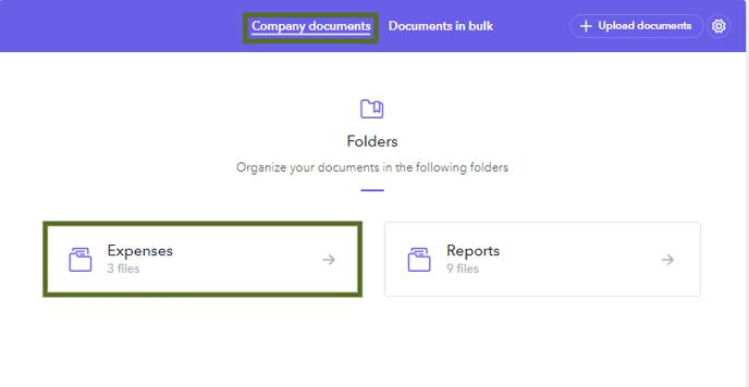 Company Documents-Expenses