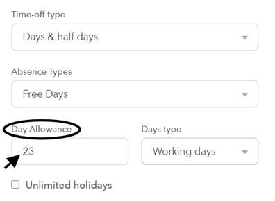 Day allowance