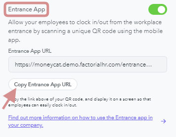 Entrance App