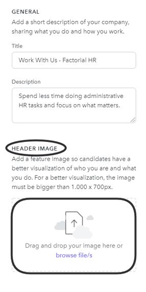 Header Image - Company page