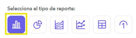 Selecciona tipo de reporte
